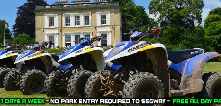 quad biking exeter