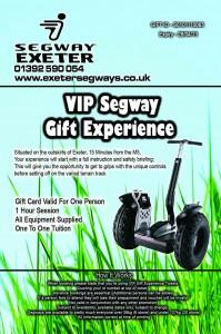 Segway Voucher Exeter Devon
