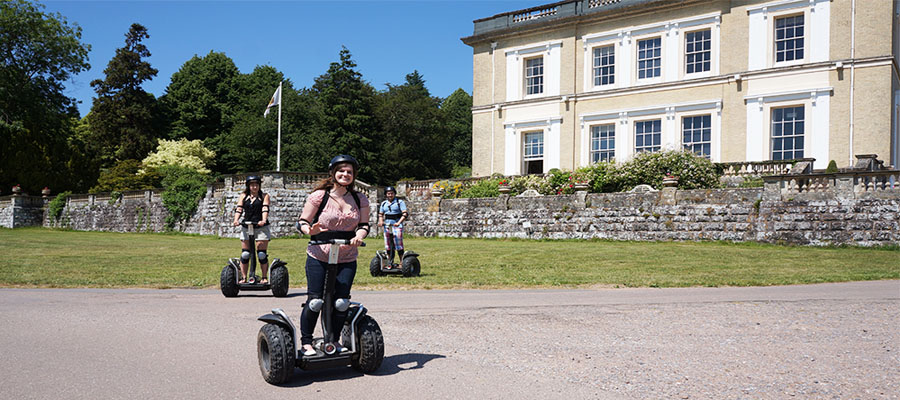 Segway Escot House Exeter Devon East Devon